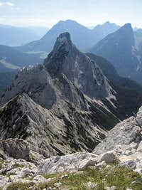 Arnspitze ridge