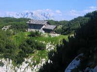 the hut on Arnspitze