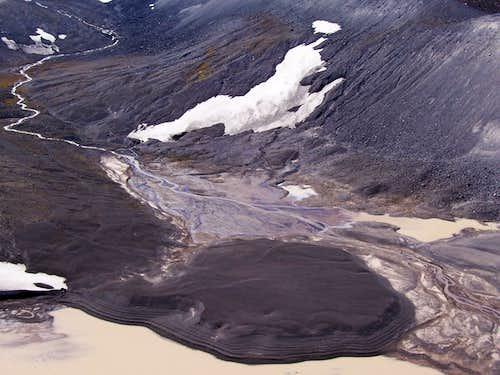 Glacial wash/Collier glacier.
