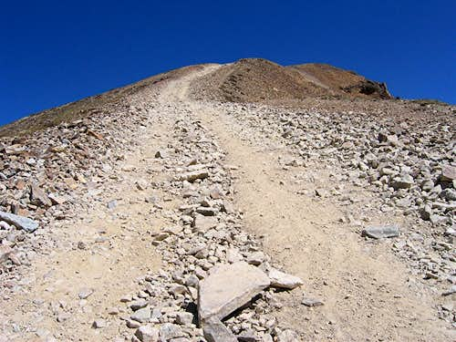 2nd steep section