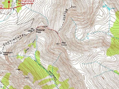 Montezuma to Webster Pass