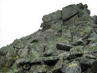 On the ridge of Zadni Gierlach