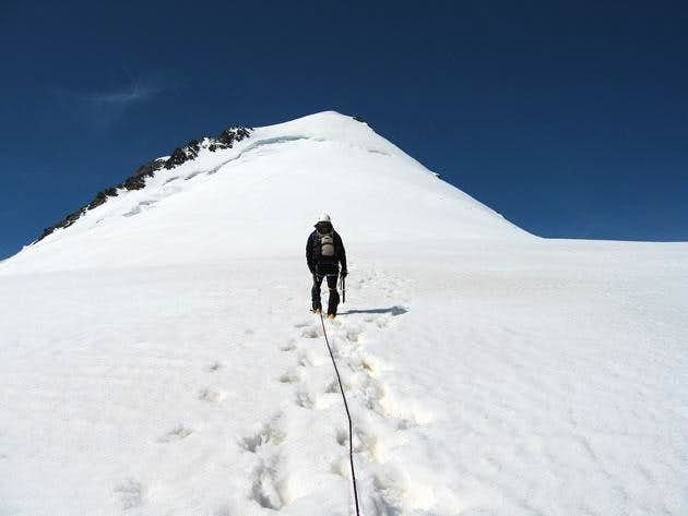 Approaching to the secondary summit