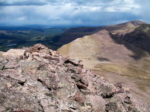 Gilbert Peak,  Utah's 3rd highest