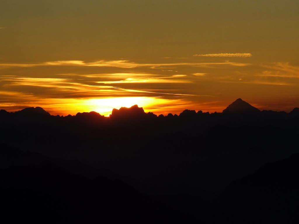 Last sunbeams..