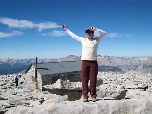 My First Time Up Whitney