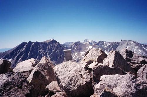 Mount Keith\'s small summit...