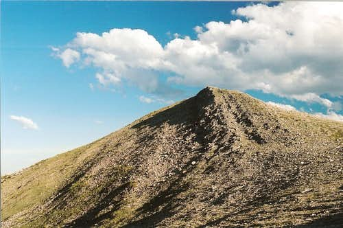 South Summit of Mount Wright