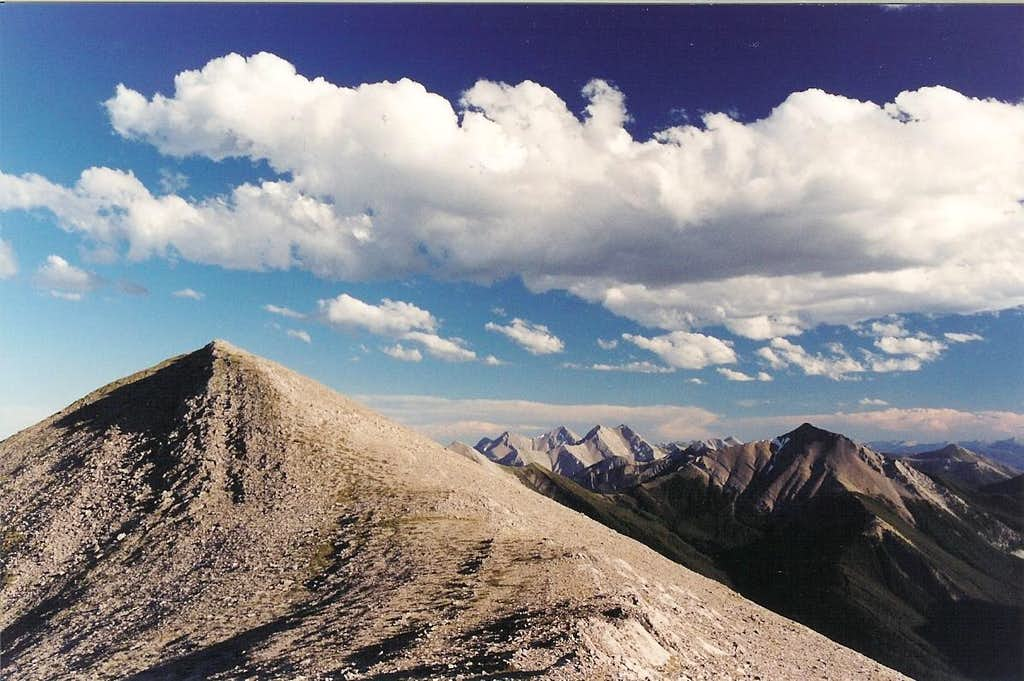Mount Wright-- South Summit