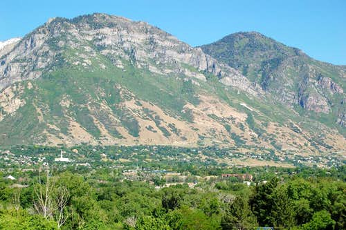 Y Mountain above Provo