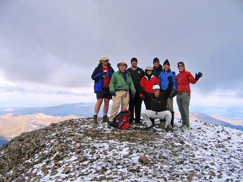 14er completion on San Luis