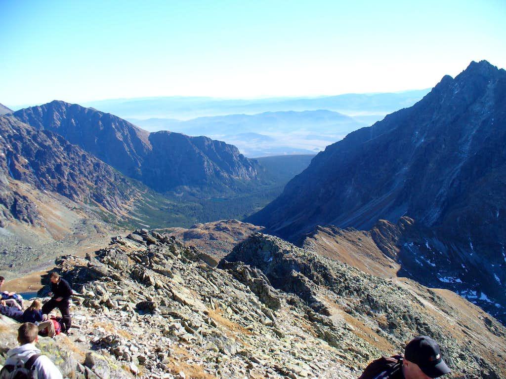 View from Koprovsky stit