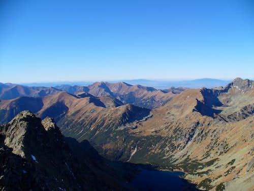 Velka Kopa a Cervene vrchy