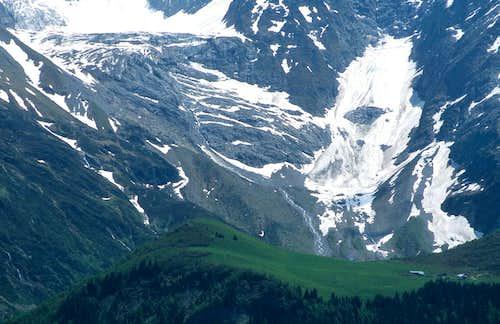 Petit glacier de Miage