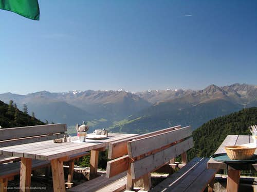 Stubai Alps from Solsteinhaus