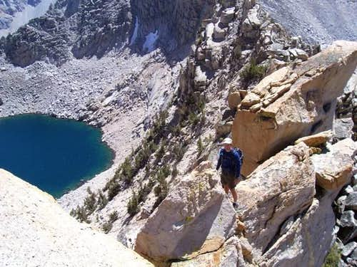 South Ridge of Gould, south of Kearsarge Pass