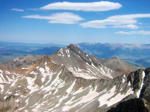 Wilson Peak and Gladstone...