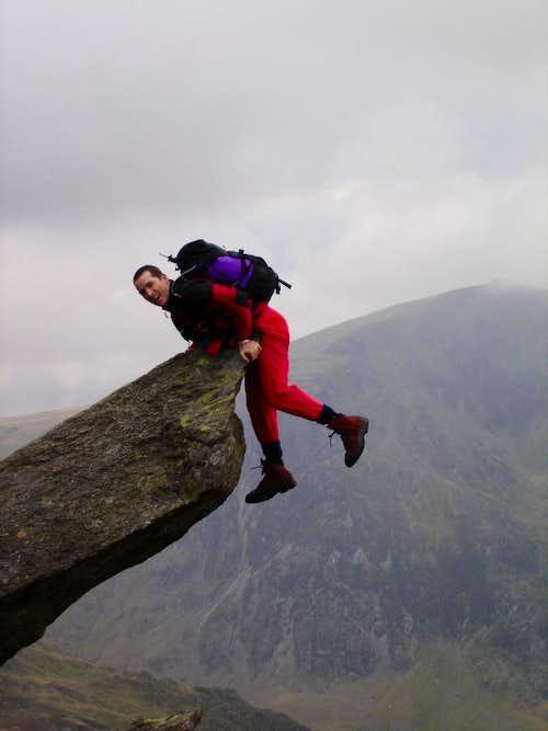 me on Tryfan North ridge