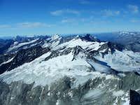 From Grossvenediger summit
