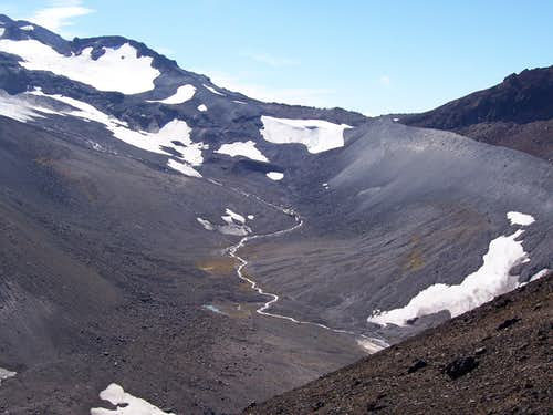 Collier glacial trough.