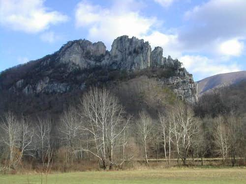 Seneca Rocks, West Virginia,...