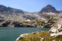 Blue Lake and Mount Toll