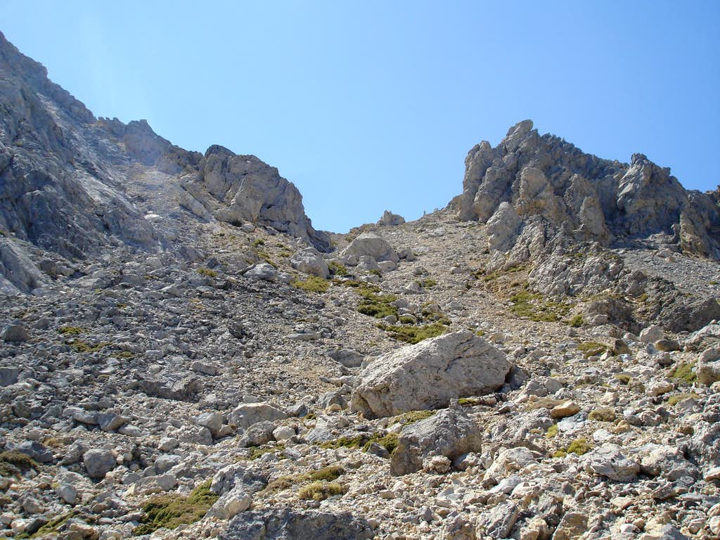 Ascent to the saddle