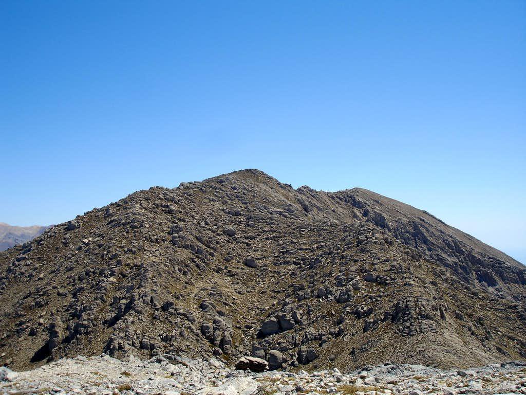 summit of Volakias (2126 m)