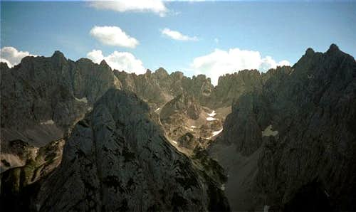 Summer 2000. The massif from...