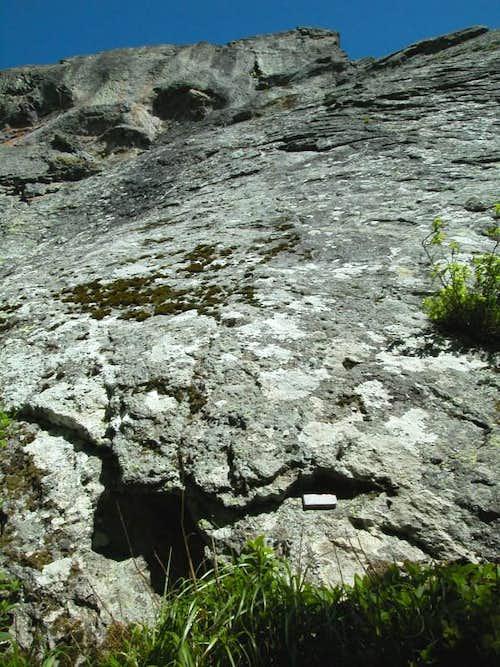 Dent de la Rancune (South face)