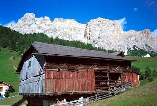 La Varella massif, the summit...