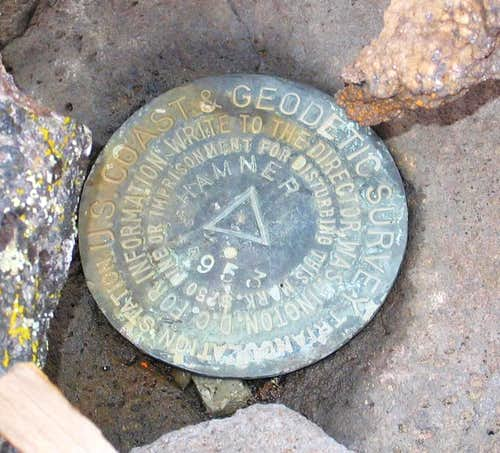 Hamner Butte Benchmark (OR)