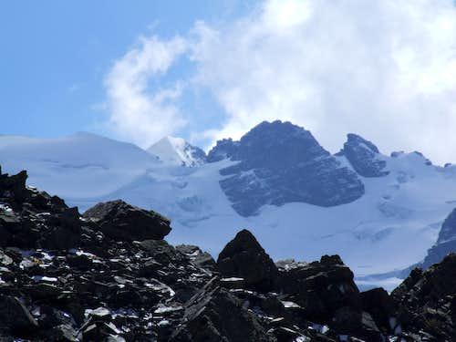 View from Condoriri camp