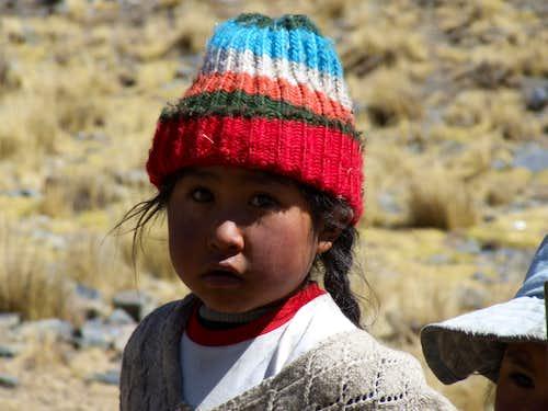 Aymara child