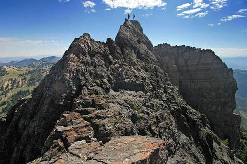 Devil\'s Castle - Full Ridge Traverse