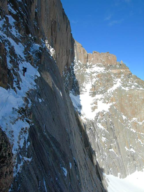 Notch Couloir Longs Peak