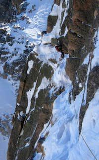 Notch Couloir Longs Peak
