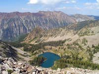 Above Red Pine Lake