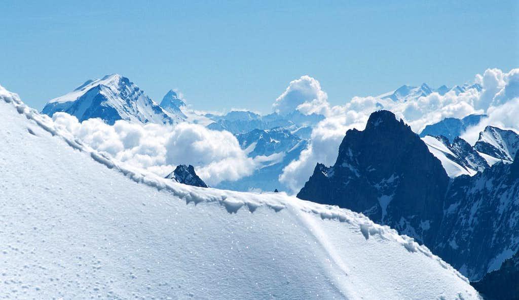 Grand Combin, Matterhorn