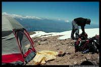 Camping on Casaval Ridge,...