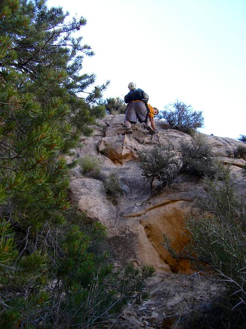 Beginning of the scrambling section