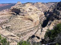 Peak 7071 and Outlaw Arch Canyon