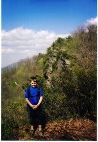 Cliffs on the Pine Mt trail (Ky/Va border)