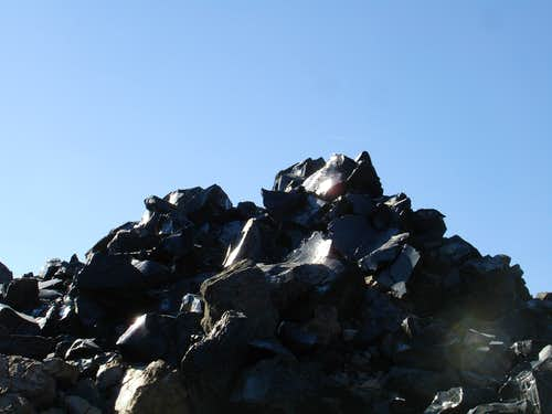 Large chunks of Obsidian Glass from the Big Obsidian Flow