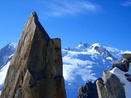 Mont Blanc de Tacul - Mont Maudit - Mont Blanc