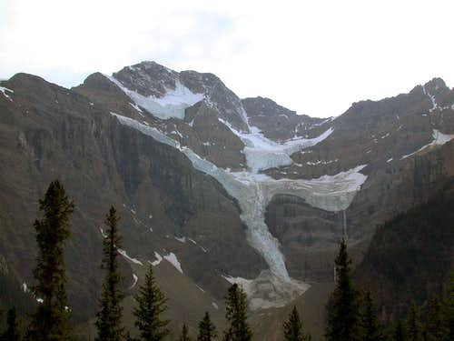 Mount Patterson from Icefields Parkway