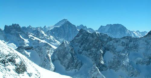 Ecrins > general view