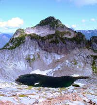 Sperry Peak and Lake Elan