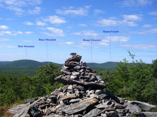 Cairn on Mount Race