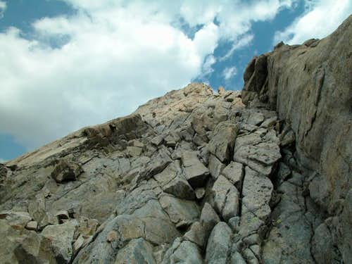 Pic N Clot des Cavales (South ridge)